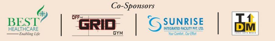 Co-Sponsors: Best Healthcare Pvt. Ltd., Off the Grid Gym, Sunrise Integrated Facility Pvt. Ltd., Three Dots Media
